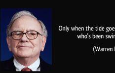 Warren Buffet often (very successfully) swims against the tide