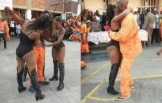 Strippers 'entertain' inmates at Johannesburg Prison