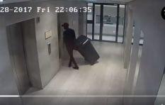 [WATCH] Chilling video of convicted murderer Sandile Mantsoe with a wheelie bin