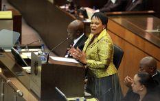 Mokonyane defends her water department over irregular expenditure