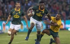 [LISTEN] Wife of Siya Kolisi 'so proud' as husband Siya leads SA to victory