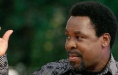 Tweeps mock TB Joshua after Clinton 'prophecy' flop