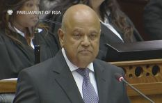 Gordhan delivered Mini-Budget to a standing ovation in Parly