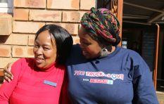 Joy and gratitude as Relebogile visits Tshepong Center