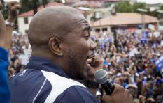 Threat alert led to Maimane donning bulletproof vest at anti-Zuma march