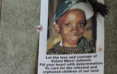 Gail Johnson: Response to HIV treatment would make Nkosi Johnson proud