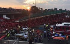 How did the M1 bridge collapse happen?