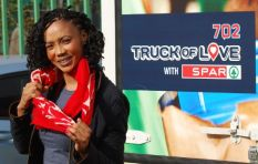 702 Truck of Love with Spar rolls into Daveyton