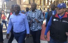 DA Picket outside Treasury to show opposition to state capture