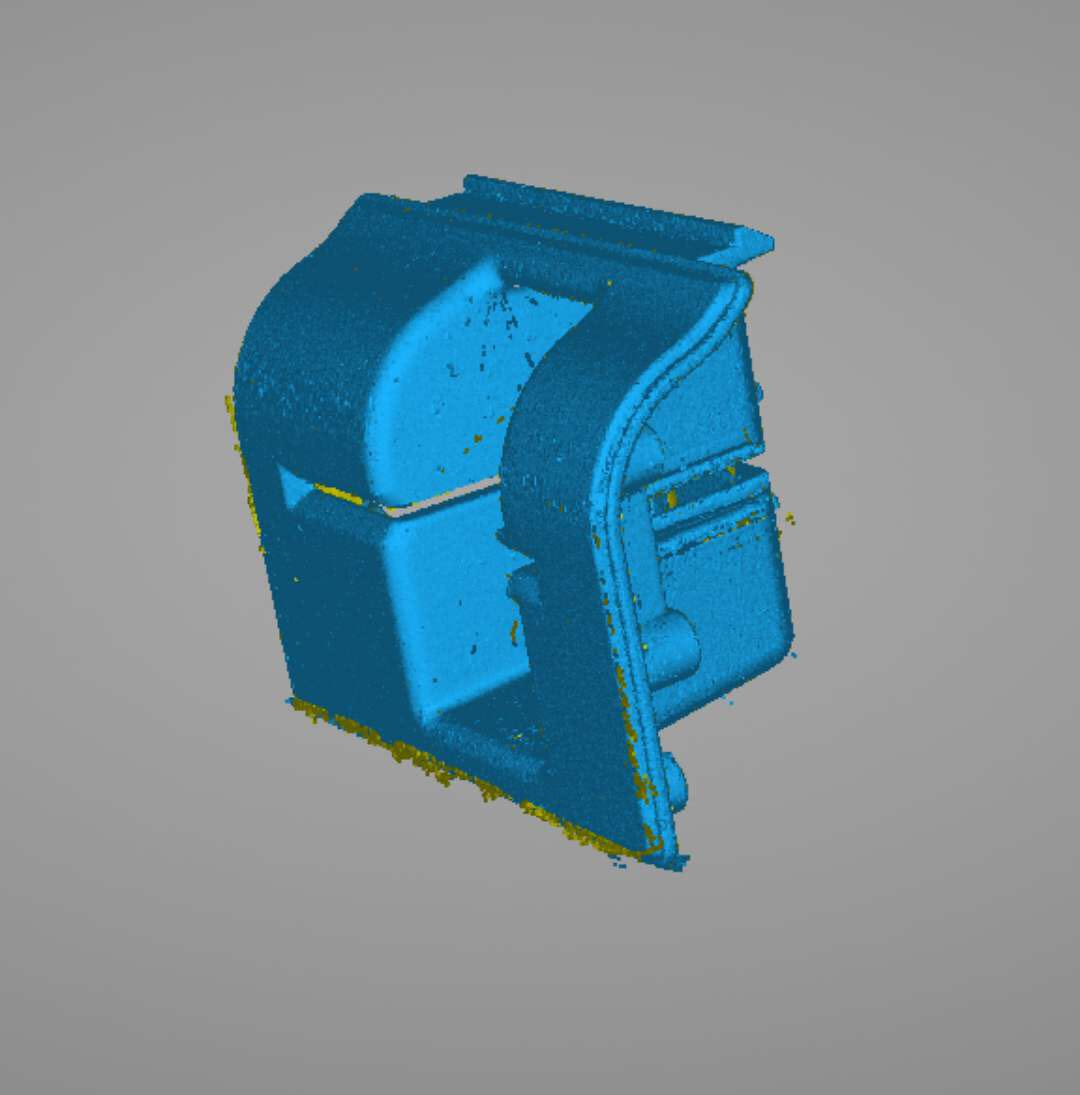 3D Scanned model of an ATM Bevel