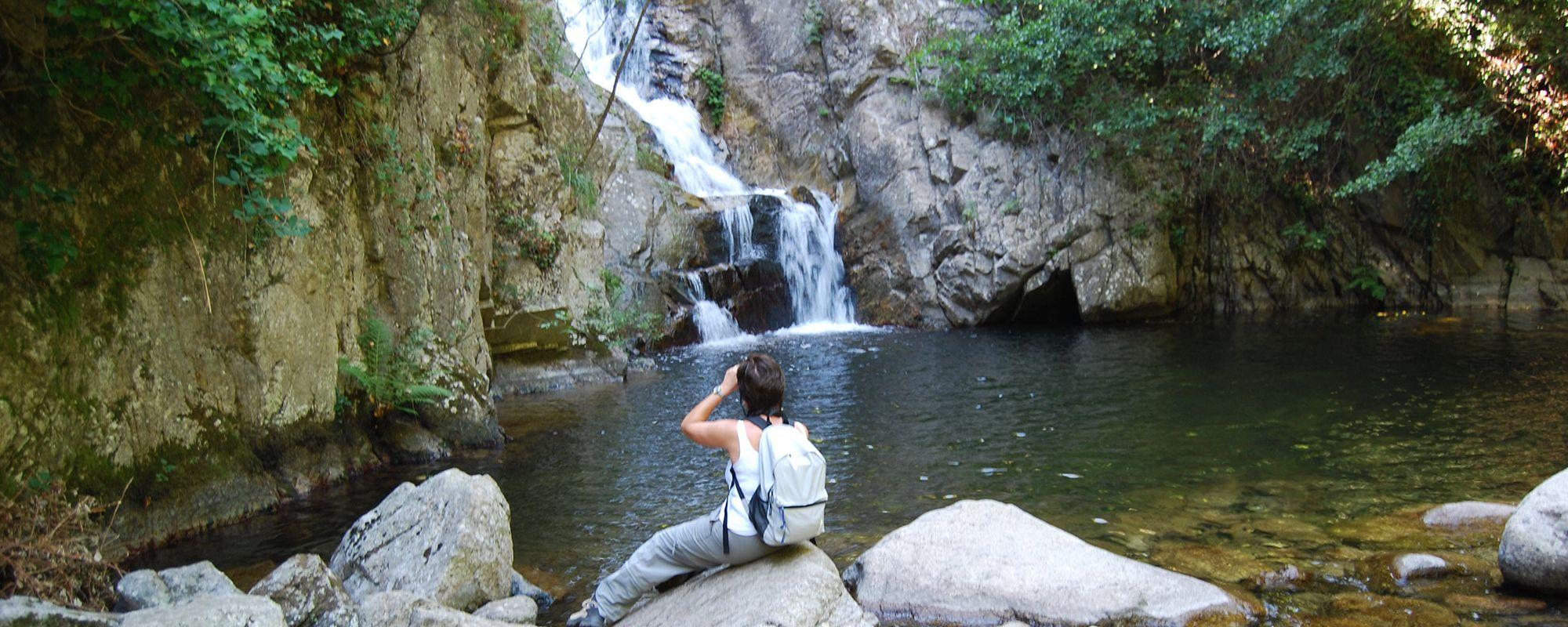 Marmarico; Laghetto alla base della cascata