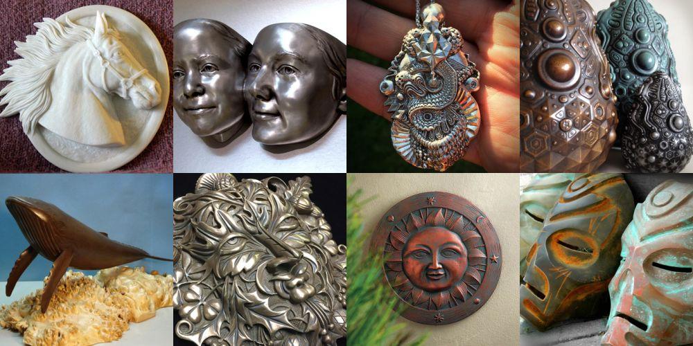 Soğuk döküm (Cold casting) örnekleri