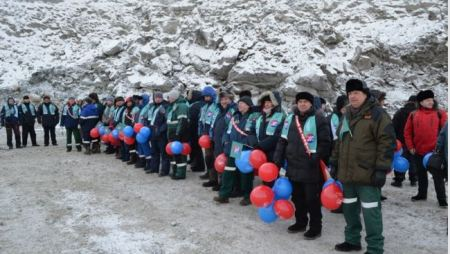 «АЛРОСА» начала добычу руды на кимберлитовой трубке «Ботуобинская».