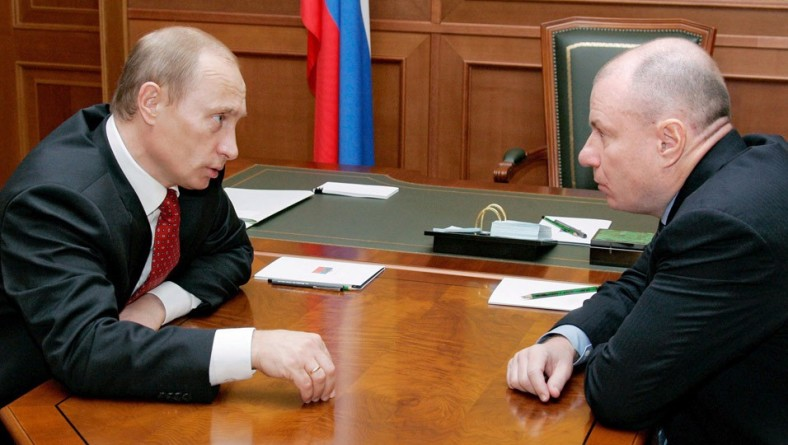 Владимир Путин провел рабочую встречу с главой «Норильского Никеля» Владимиром Потаниным.