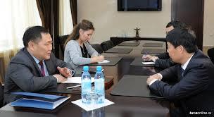 Глава Тувы встретился с новым руководителем ООО «Лунсин».