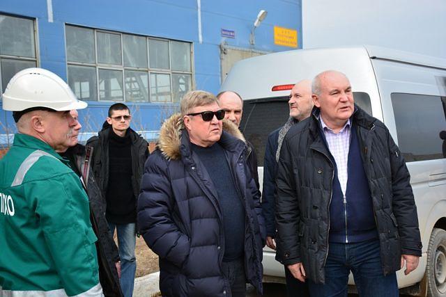 Полпред президента в Сибирском ФО Николай Рогожкин посетил объекты ППГХО.