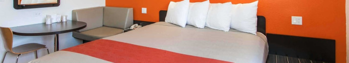 Forget You Are Living Out of a Suitcase When You Stay at Newly Designed Motel 6