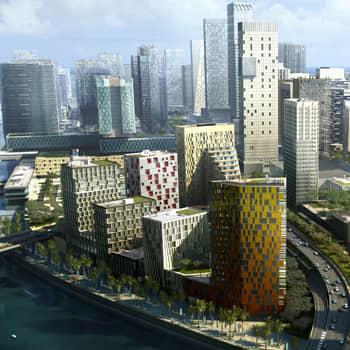 The Landmark Tower Abu Dhabi Protenders