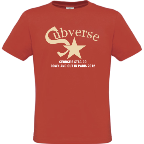 Subverse Stag's T-Shirt design