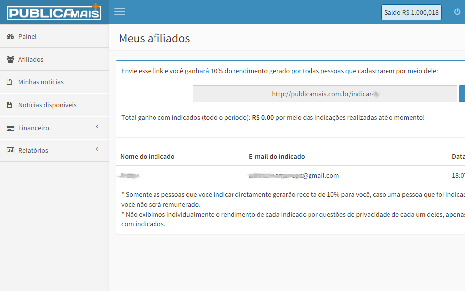Painel Screenshot 4