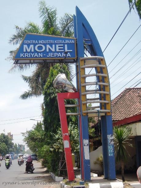 Pusat Kerajinan Monel Jepara