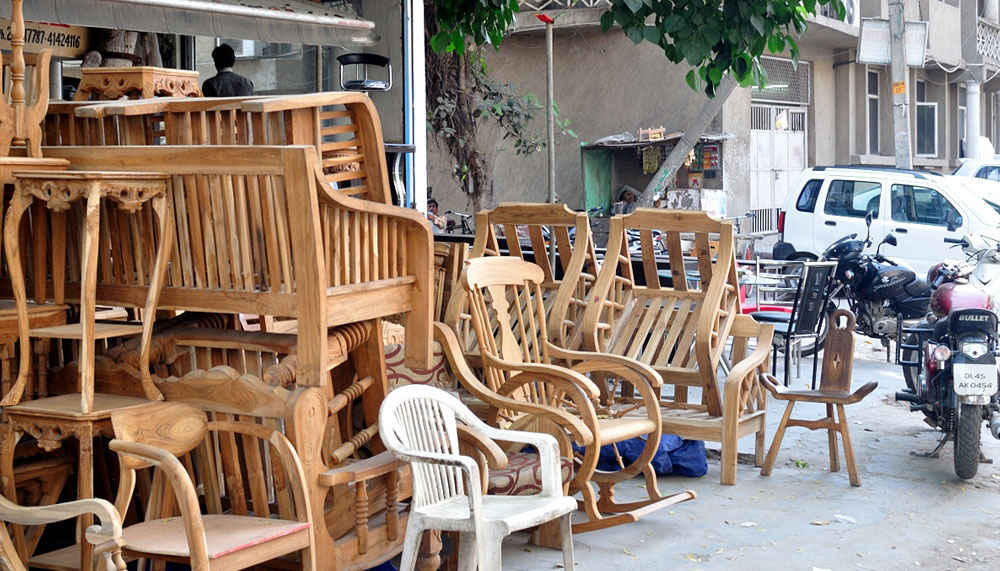 Kirti Nagar Furniture Market In West Delhi So Delhi