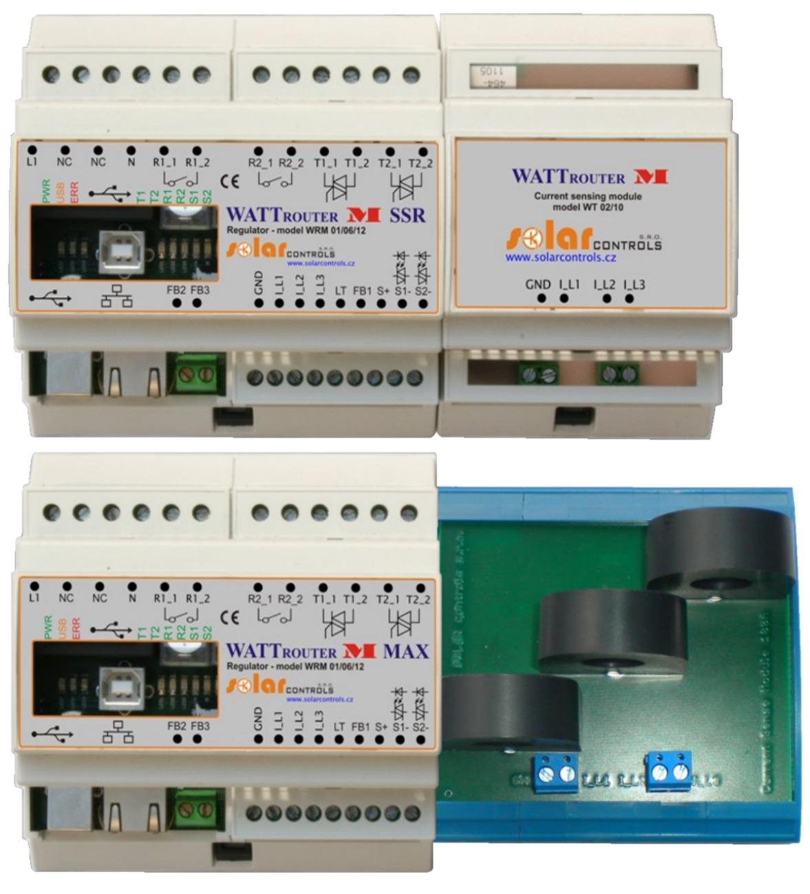 Модификации Wattrouter M: SSR и SSR Max