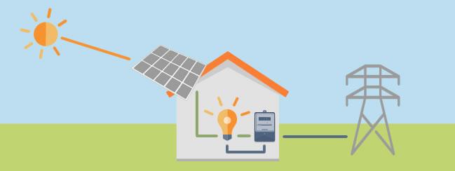 Подключение солнечных батарей к сетям