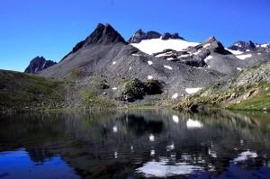 Dal lago della Tormotta la successione oceanica sale fino allo spartiacque