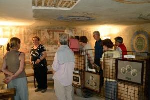 3. Ilda all'Ecomuseo della Latteria di Tréby, antica sede della Confraternita dello Spirito Santo.