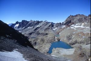 3. Il Gran Lago del Dragone. La foto è presa dal Colle di Vaufrède.