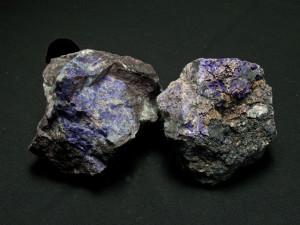 Mineralizzazioni idrotermali a manganese: violano da Prabornaz (Saint-Marcel)