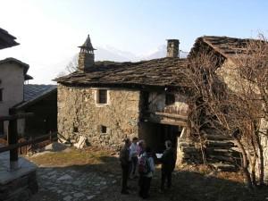 Un edificio tradizionale ad Enchasaz