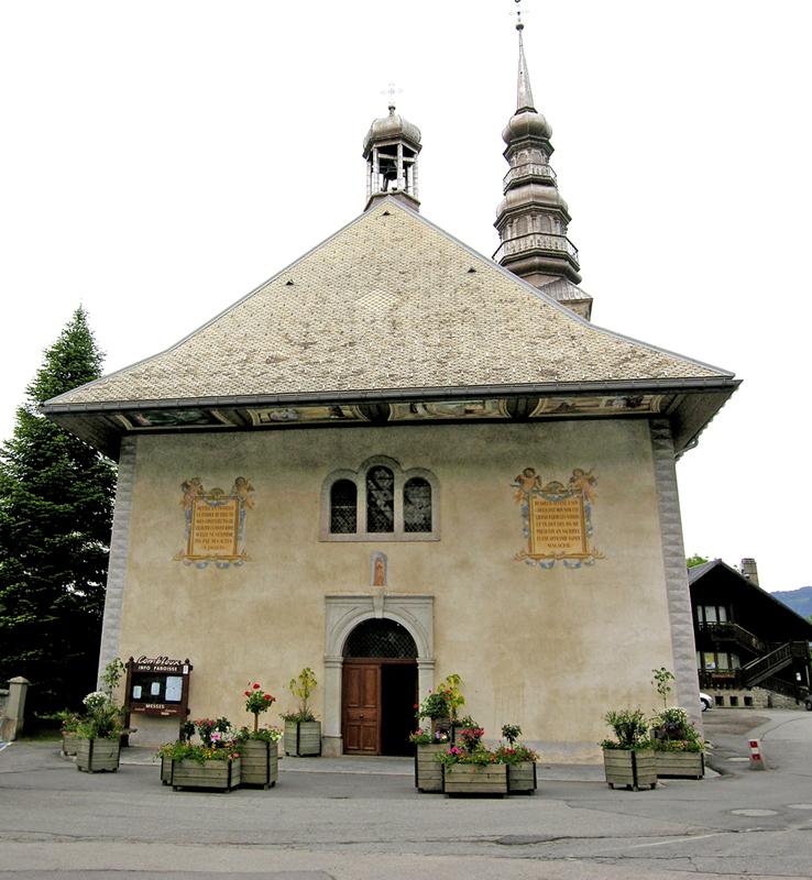 1. Una cappella barocca lungo l'itinerario.