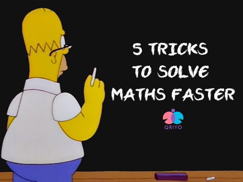 solve maths fast
