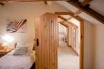 Barn conversion for holidays - twin bedroom
