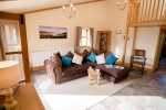 Cottage holiday on working farm on the Gower - lounge