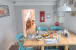 Llyn Peninsula holiday cottage kitchen diner