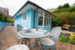 Holiday cottage Porthmadog - decking