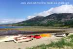 Trefor's small harbour offers a small sandy beach