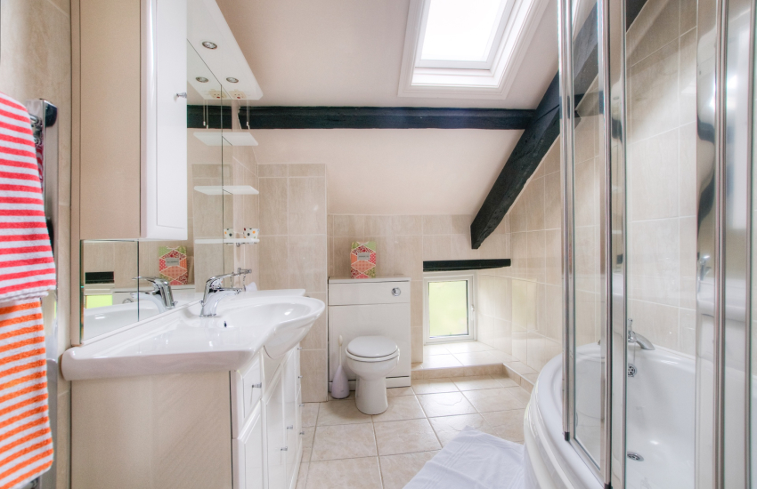 Ceredigion holiday house - bathroom
