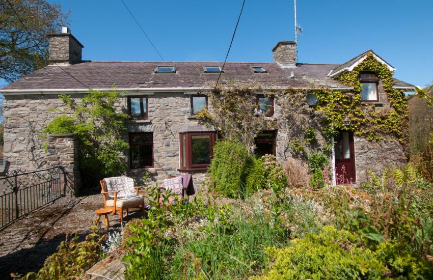 Llanerchaeron holiday cottage - exterior