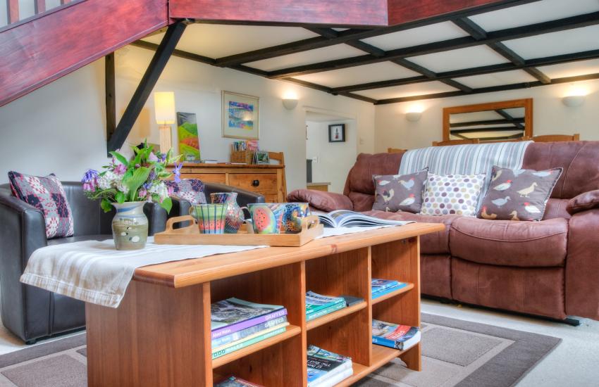 Aberaeron holiday cottage - lounge