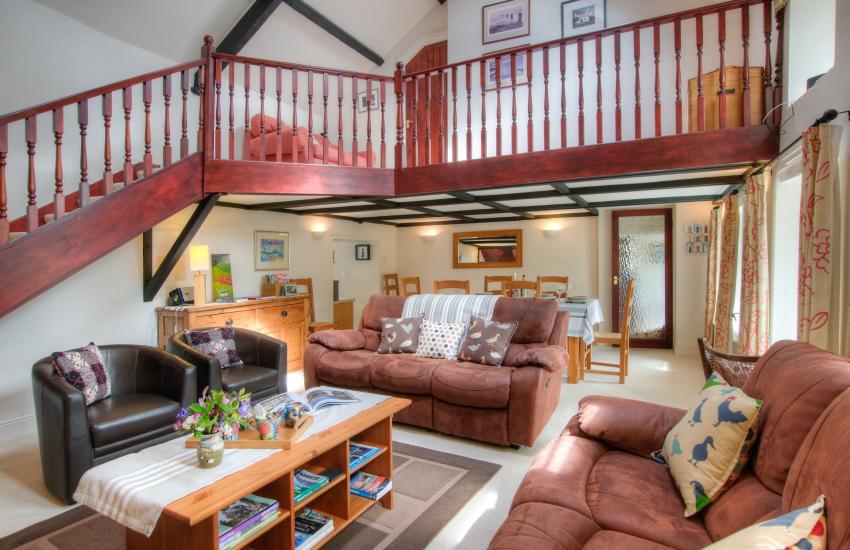 Ceredigion luxury holiday cottage - lounge