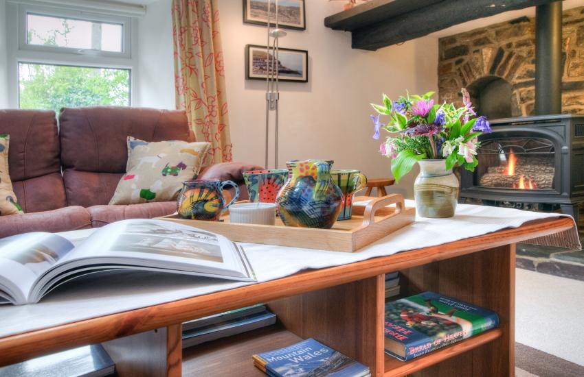 Luxury holiday cottage - lounge