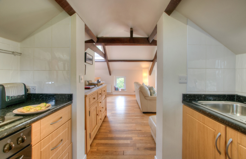 Aberaeron self catering- kitchen