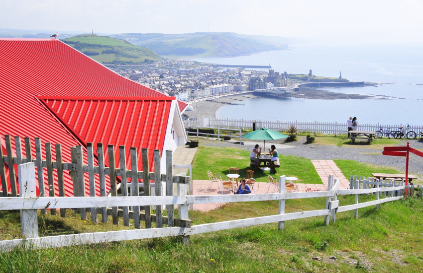 Constitution Hill in Aberystwyth
