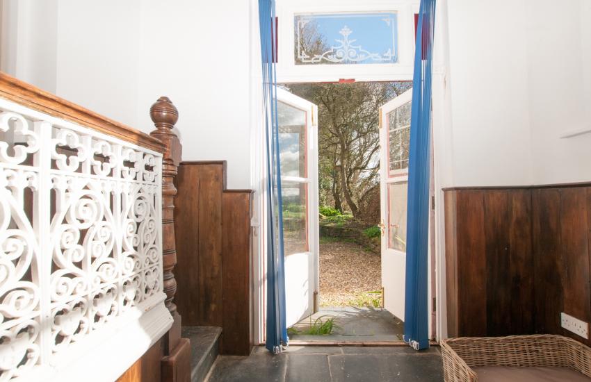 Holiday cottage Cardigan bay - door