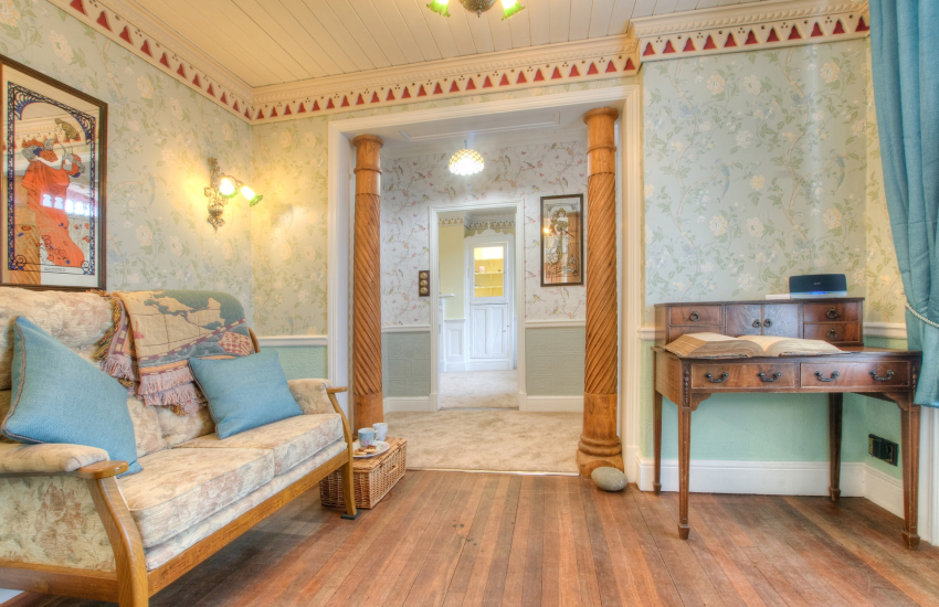 West Wales holiday cottage  - sitting room