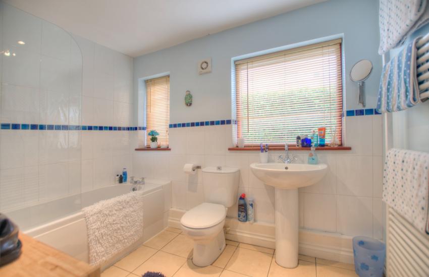 Holiday cottage Porthdinllaen - bathroom